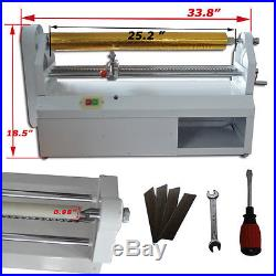 110V Hot stamping Electric Foil Paper Cuting Machine Gold Blocking Equipment New