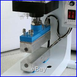 220V Pneumatic Hot Foil Stamping Machine Leather Wood LOGO Automatic Stamper