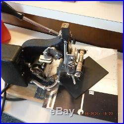 (2) Kingsley hot foil stamping machines and plenty of accessories