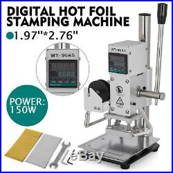 57 cm Digital Hot Foil Stamping Machine PU 110V Embossing Leather With Holder