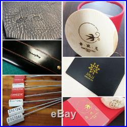 5x7CM Hot Foil Stamping Bronzing Machine Pressure Logo For PVC leather PU Emboss