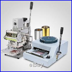 68-character Embosser Hot Foil Stamping Machine Stamping Embossing Code