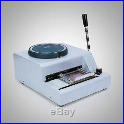 68-character Embosser Hot Foil Stamping Machine Steel Printer Manual First Class