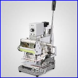 72 Character Embossing Machine Hot Foil Stamping Pvc Cards 11 Line Embosser
