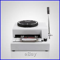 72-Character Embossing Machine And Hot Foil Stamping With A Foil Paper Printing
