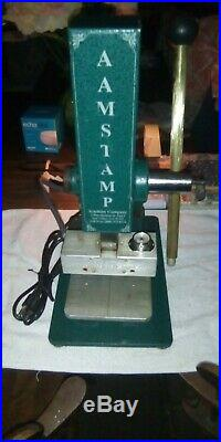 Aamstamp Hot Foil Stamping Machine