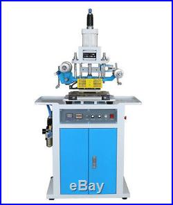 Brand New 220V 80125mm Pneumatic Hot Foil Stamping Embossing Machine
