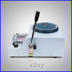 Embossing Machine+hot Foil Stamping For ID Pvc Cards Insurance Manual Credit