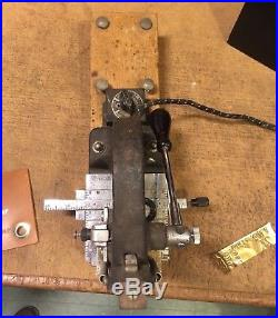 Early Kingsley Hot Foil Stamping Machine antique, working