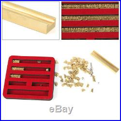 Flexible Brass Letters Number/Letter Font Mold for Hot Foil Stamping Machine US