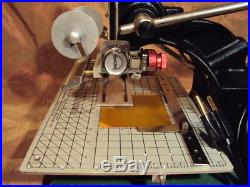 HOWARD IMPRINTING STAMPING HOT FOIL MACHINE With WT WORK TABLE