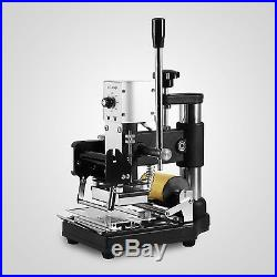 Hot Foil Stamping Machine Tipper Bronzing PVC ID Credit Card With Free Foil Paper