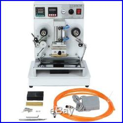 Hot Foil Stamping Printing Machine Automatic Hot Stamper Stamping Machine 220v