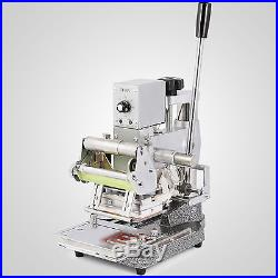 Hot Foil Stamping Printing Machine Tipper PVC Credit Card Industry Usages Logo