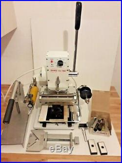 Hot foil stamping machine / Kobo TC 180 with Attachments