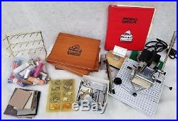 Howard # 150 Personalizer Hot Foil Stamping Imprinting Machine with Manual Extras