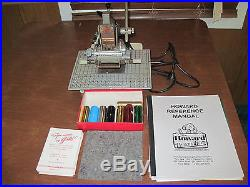 Howard Imprinting Machine The Personalizer Hot Foil Stamping Machine
