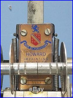 Howard Imprinting Personalized Hot Foil Stamping Machine