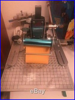 Howard Personalizer Hot Foil Stamping machine Rolls of foil & Letters! Hot stamp