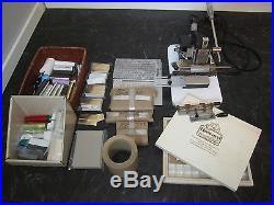 Howard Personalizer Imprinting Machine / Hot Foil Stamping. All included