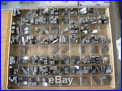 Howard Personalizer Imprinting Machine Hot Foil Stamping M45 WORKS Type Sets