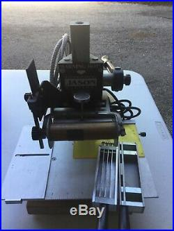 Jason Hot Foil Stamping Machine, Typeface, holder, foil. Local pickup ONLY
