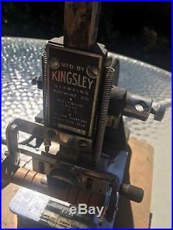 KINGSLEY Hot Foil Stamping Machine With Tons Of Accessories WORKS