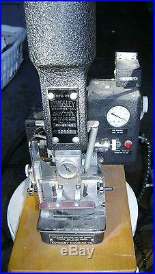 Kingsley AM60 hot foil stamping machine with Air Compressor local Pickup