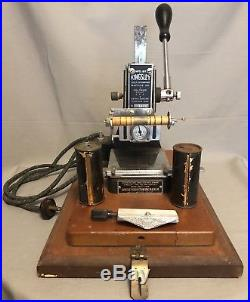 Kingsley Gold Hot Foil Stamping Machine Low Numbered 60m