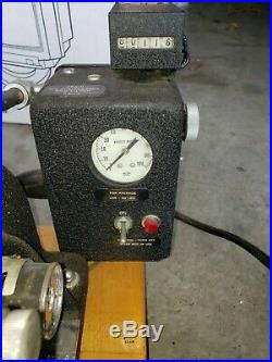 Kingsley Hot Foil Stamping MODEL AM-60-AS Machine with foot pedal and MISC