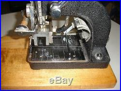 Kingsley Hot Foil Stamping M-50 Machine with Accessories Nice