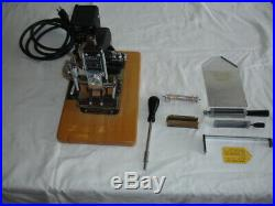 Kingsley Hot Foil Stamping M-75 Machine with Accessories Nice