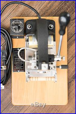 Kingsley Hot Foil Stamping Machine M-50-New Heater-VOLT. CONVERTER 220 to 110