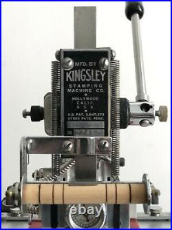 Kingsley Hot Foil Stamping Machine M-50 Refurbished With Spare Heater