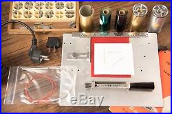 Kingsley Hot Foil Stamping Machine M-60-New Heater-VOLT. CONVERTER 220 to 110