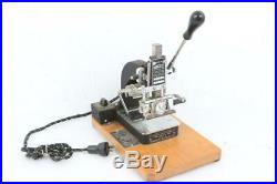 Kingsley Hot Foil Stamping Machine Mint Condition