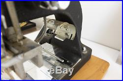Kingsley Hot Foil Stamping Machine with Lots of Accesories