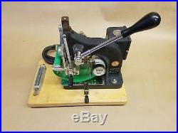 Kingsley Hot Foil Stamping Machine with accessories Model M-60