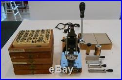 Kingsley Hot Foil Stamping Machine with lots of extras