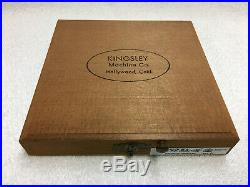 Kingsley Machine Forty One 24pt. Emblems Hot Foil Stamping Machine