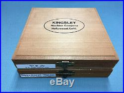 Kingsley Machine Type (18pt. Goudy Cursive) Hot Foil Stamping Machine