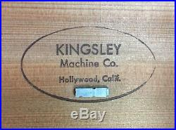 Kingsley Machine Type (18pt. Murray Hill) Hot Foil Stamping Machine