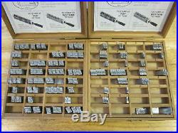 Kingsley Machine Type, 36 pt Raleigh cursive, Hot Foil Stamping Machine