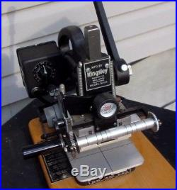 Kingsley Model M-101 Hot Foil Stamping Machine With7 Boxes of Type Fonts & More