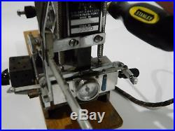 Kingsley Model M 50 Hot Foil Stamping Machine with 4 Boxes of Type READ DESCRI
