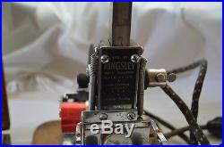 Kingsley Stamping Machine Hot Gold Foil Stamp Type Set Box Hollywood California