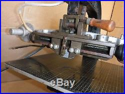 Kwikprint Model 55 Hot Stamping Machine Leather Embossing Foil Stamp