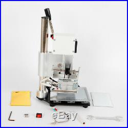 Manual Digital Hot Foil Stamping Machine WT-90AS Leather Stamping Wooden Crafts