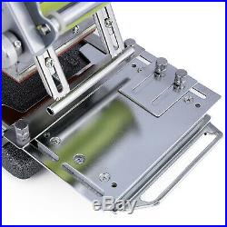 Manual Tipper Stamping Printing Machine PVC Card Hot Foil Stamper with 2 Roll Foil