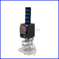 NEW Hot Foil Stamping Branding Embossing Machine With 810CM Plate Leather Printer